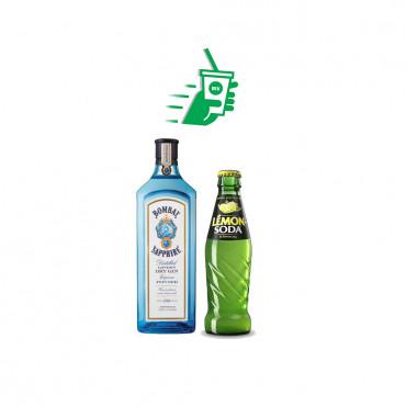 Gin Bombay Lemon